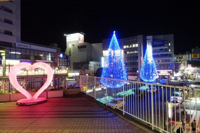 所沢駅西口 イルミネーション イルミライティングファンタジア